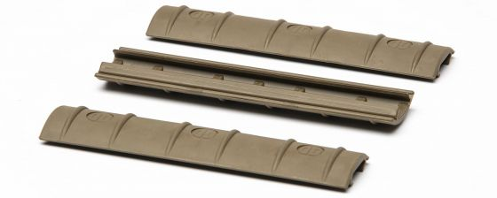 Daniel Defense AR-15 Picatinny Rail Covers - FDE