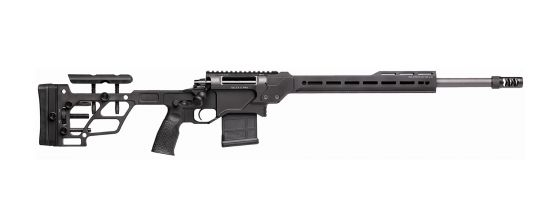 DELTA 5 PRO Bolt-Action Rifle with 20-inch Barrel, Chambered in .308 Win. Black Finish, Right Profile