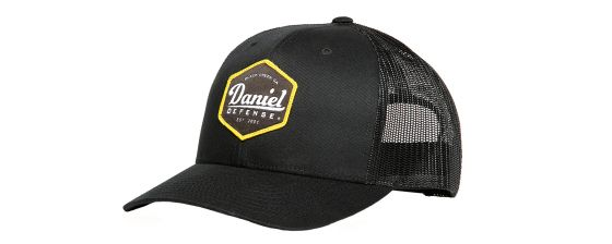 Daniel Defense® Black Trucker's Hat