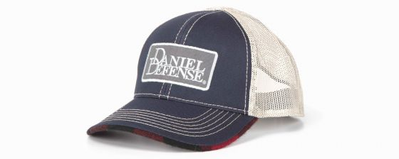 Daniel Defense® Plaid Trucker's Hat