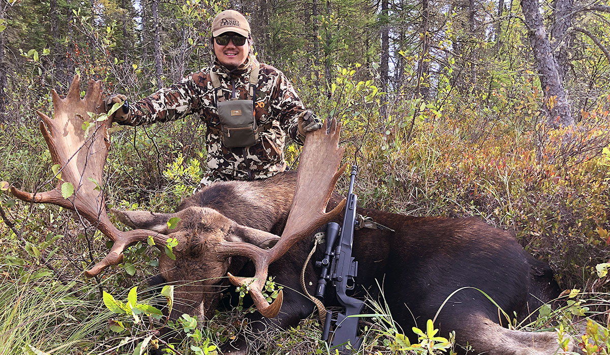 Moose Hunting with the DELTA 5