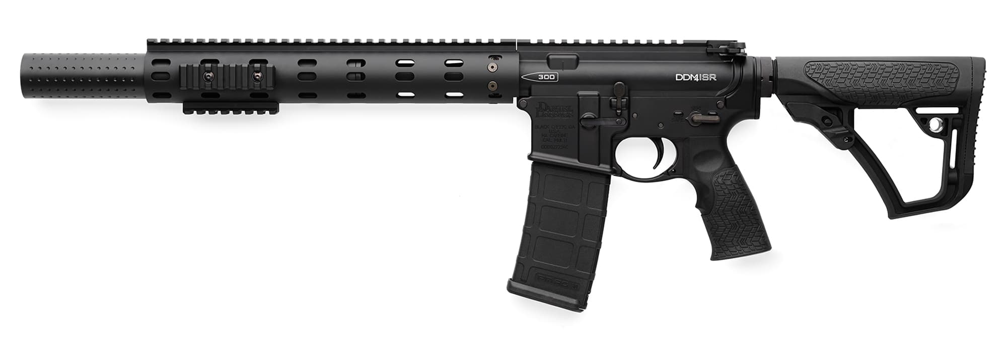 Daniel Defense Rifle DDM4ISR Integral Suppressor
