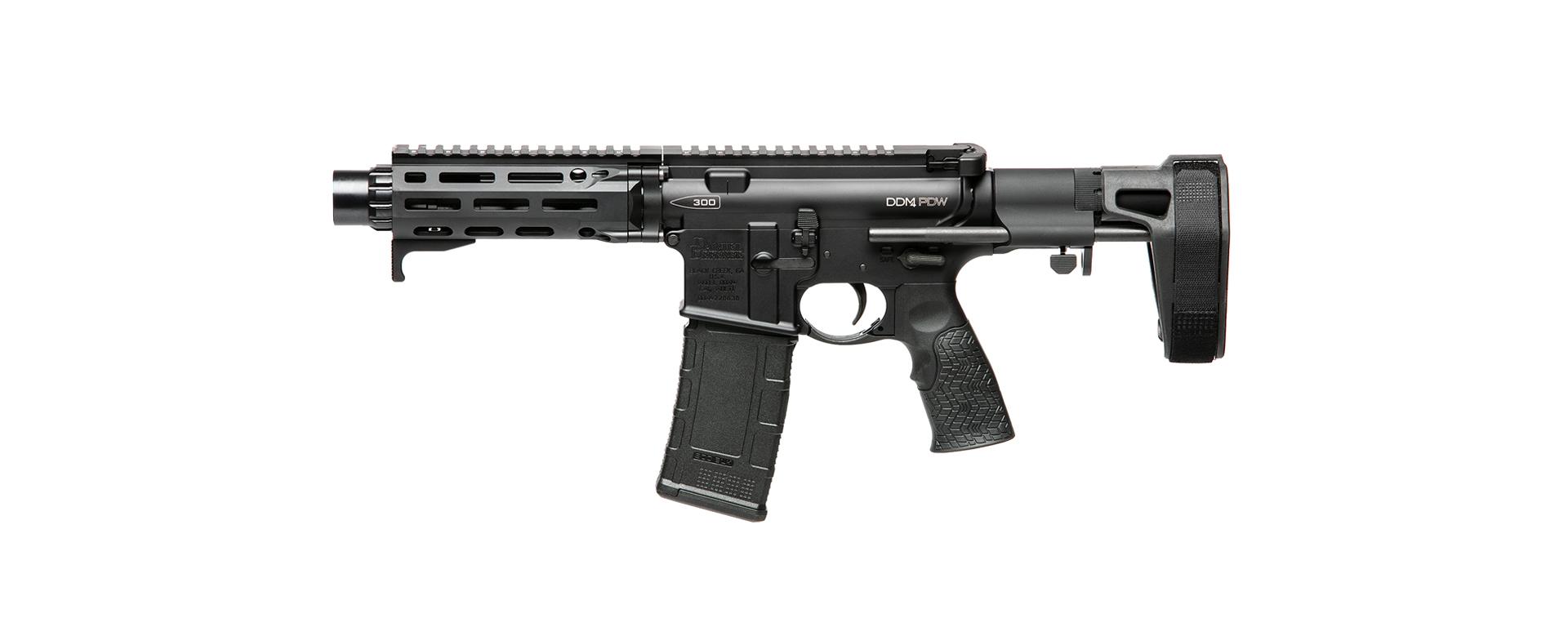 Daniel Defense DDM4 PDW Pistol 300 Blackout - Left