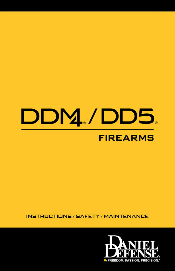 DDM4/DD5 Manual
