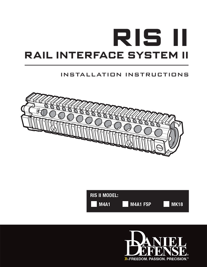 RIS II Rail Installation Instructions