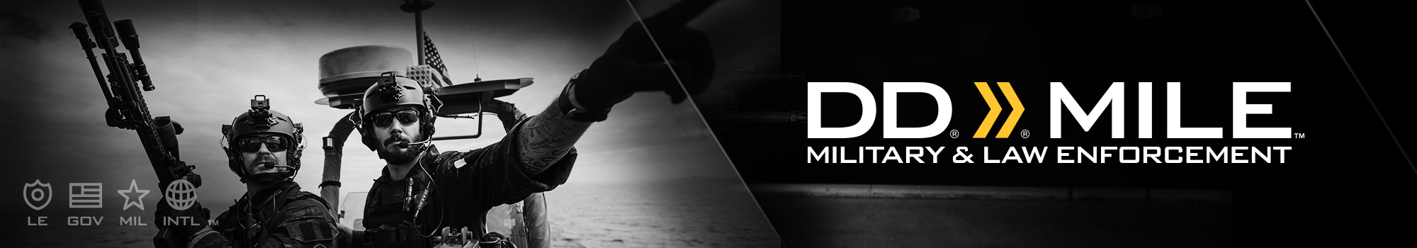 DD Mile Program for Military & Law Enforcement